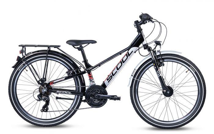 S'cool troX EVO alloy 24-21 black/grey/red (2020)