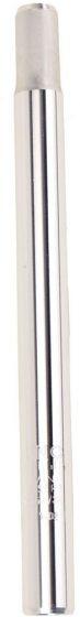 Fuxon Sattelsütze Kerze 400 mm, Alu, CNC, silber