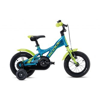 S'cool XXlite alloy 12 blue/lemon metallic (2020)
