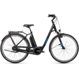 Cube Town RT Hybrid Pro 500 Damen black´n´blue (2021)