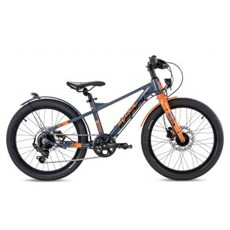 S'cool XXlite EVO alloy 20-7 grey/orange matt (2020)