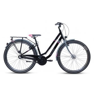 S'cool chiX twin alloy 26-3 black/pink (2020)