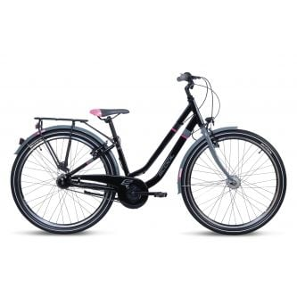 S'cool chiX twin alloy 26-7 black/pink (2020)