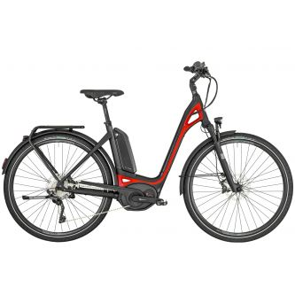 Bergamont E-Ville XT Damen 500Wh black/red (2019)