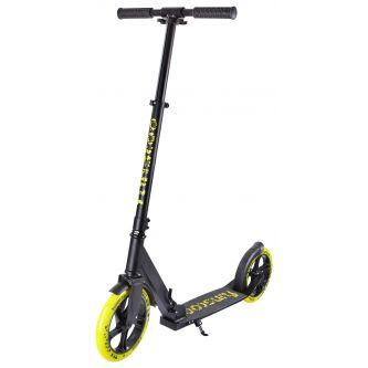 FUN4U Scooter Funscoo 230mm schwarz/gelb