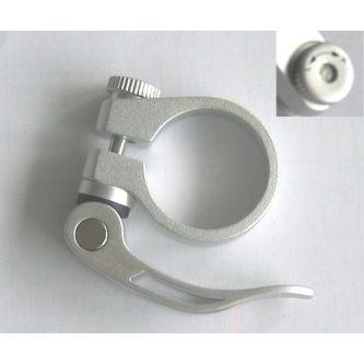 Fuxon Sattelklemme SSP JD-SC12 31,8 mm silber