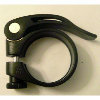 Fuxon Sattelklemme SSP JD-SC12 31,8 mm schwarz