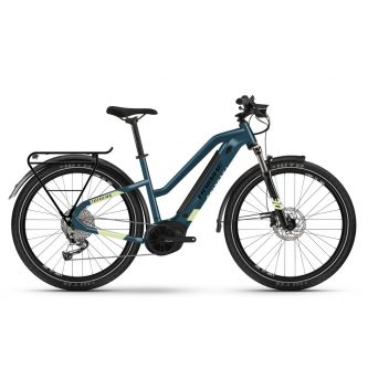 Haibike Trekking 5 Trapez 500Wh blue/canary (2021)