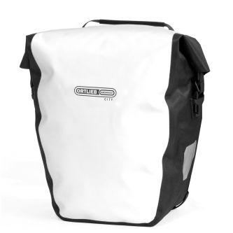 Ortlieb Back-Roller City QL1 Paar weiß-schwarz