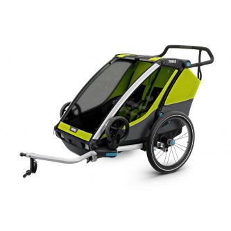 Thule Chariot Cab 2 Chartreuse/Dark Shadow