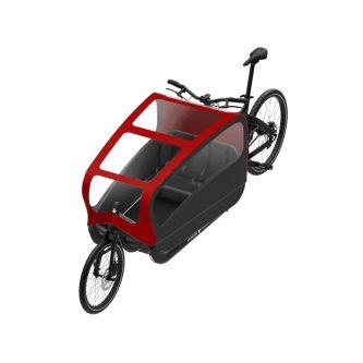 Triobike Cargo Big 508Wh Enviolo schwarz-cardinal (2020)