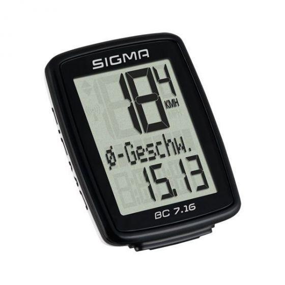 Sigma BC 5.16 Fahrrad Computer (Kabel)