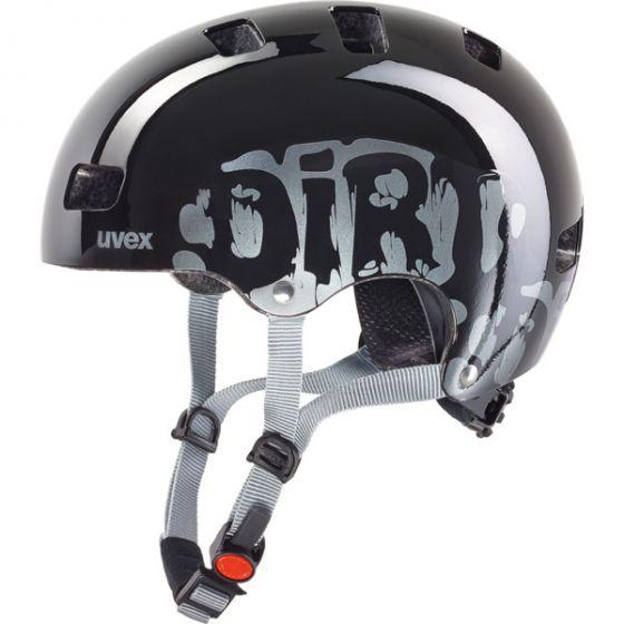 Uvex Kid 3 Dirtbike Black