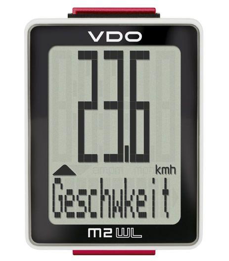 VDO M2 WR Fahrradcomputer (Kabel)