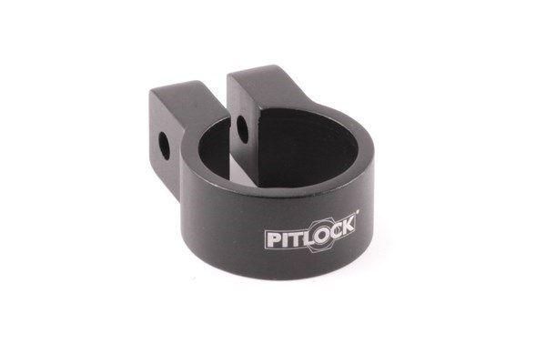 Pitlock Sattelklemmschelle 31,8 mm schwarz