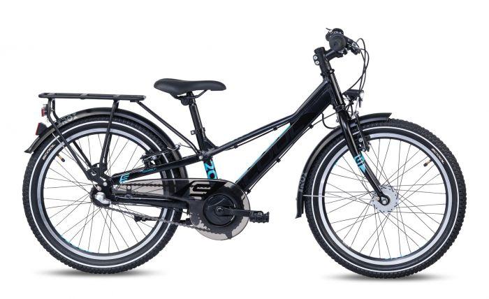 S'cool troX EVO alloy 20-3 black/cyan matt (2020)