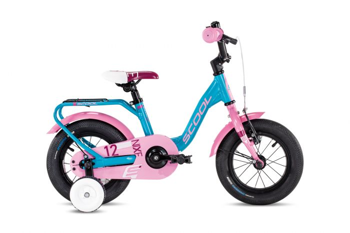 S'cool niXe alloy 12 turquoise/pink (2020)