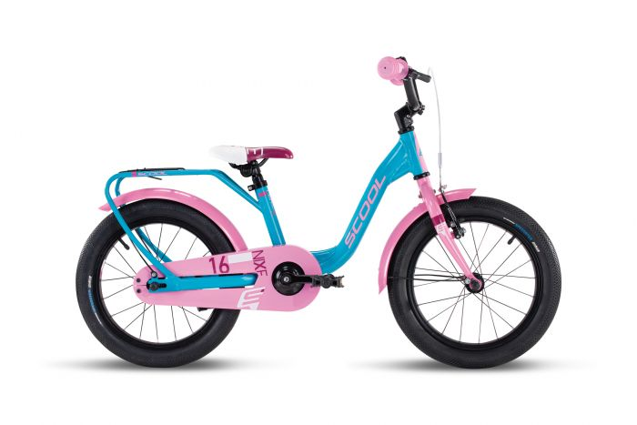 S'cool niXe alloy 16 turquoise/pink (2020)