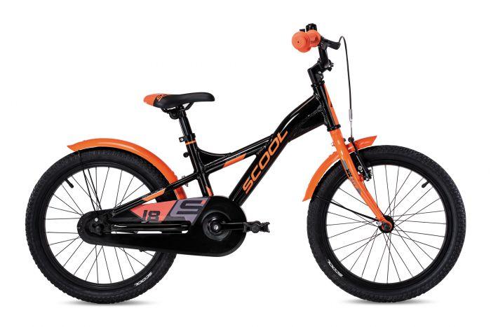 S'cool XXlite alloy 18 black/orange (2020)