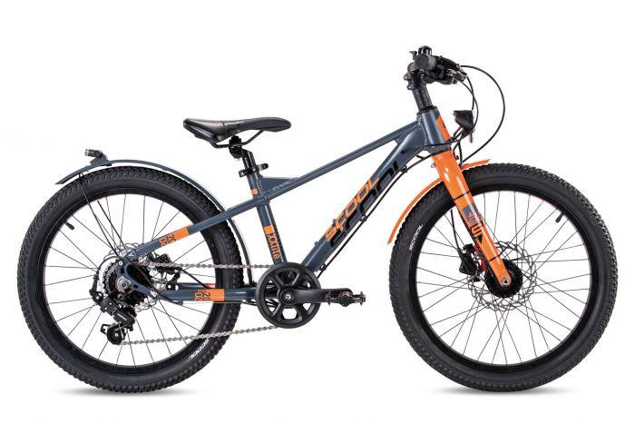 S'cool XXlite EVO alloy 20-7 grey/orange matt (2020)