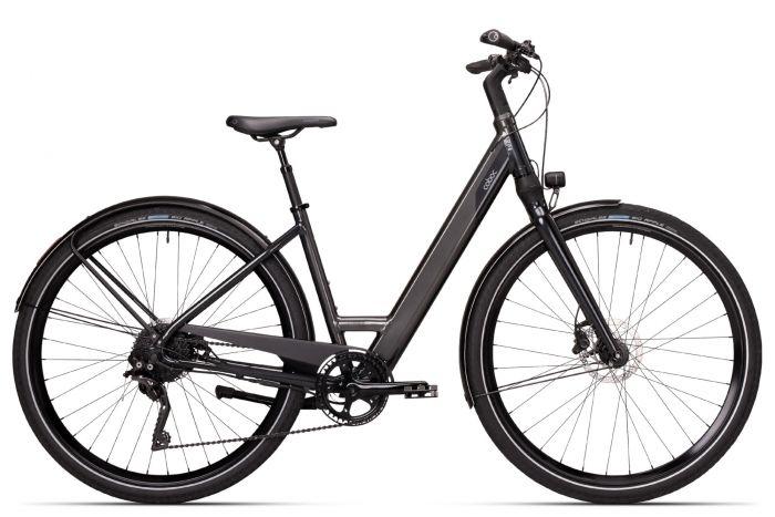 Coboc SEVEN Kallio Comfort Damen 380Wh grey-black (2020)
