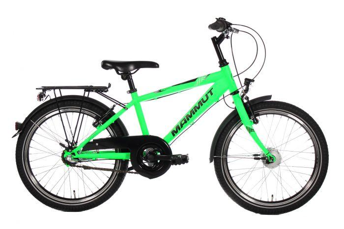 Mammut Sport 20 Zoll Dirt 3-Gang neon green matt (2021)