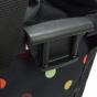 Klickfix Bikebasket Fahrradkorb dots
